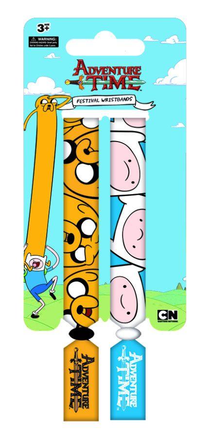 Adventure Time Festival Wristband 2-Pack Finn & Jake