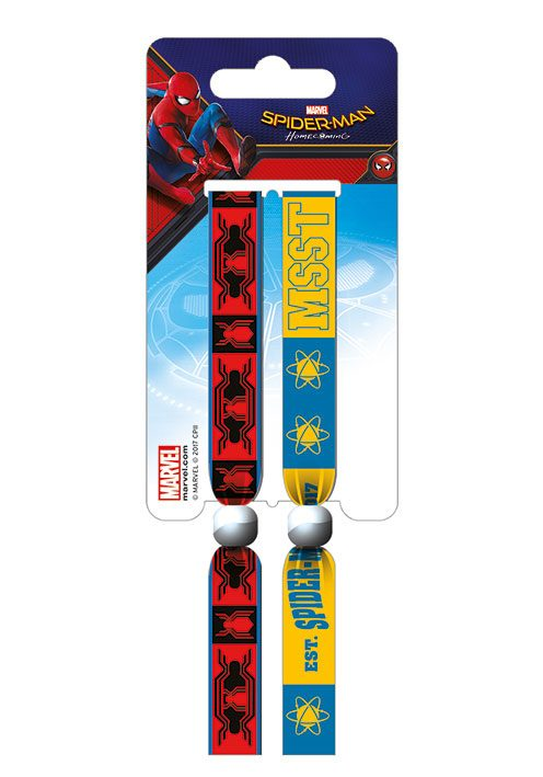 Spider-Man Homecoming Festival Wristband 2-Pack School