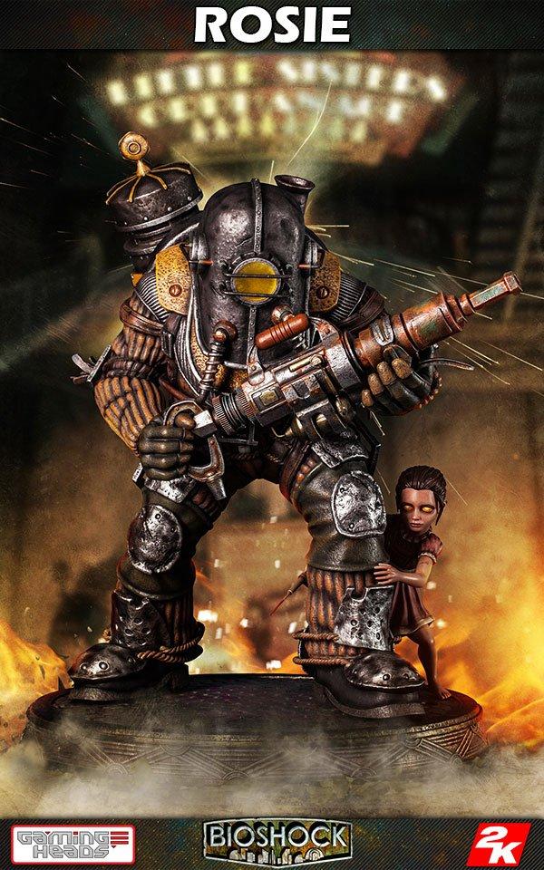 BioShock Infinite Statue 1/4 Big Daddy - Rosie 53 cm