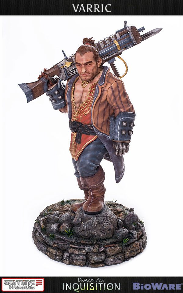 Varric Dragon Age Inquisition 1/4 Scale Statue by Gaming Heads