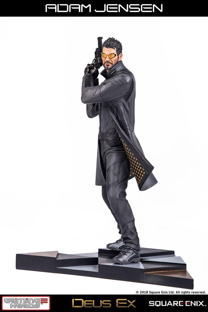 Adam Jensen Deus Ex Mankind Divided 1/4 Statue by Gaming Heads