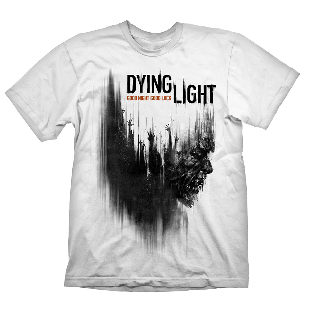 Dying Light T-Shirt Cover Zombie  Size XL