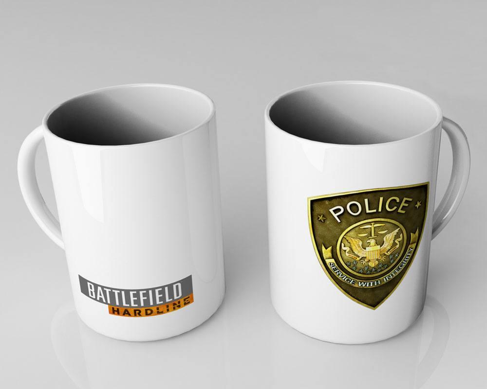 Battlefield Hardline Mug Police
