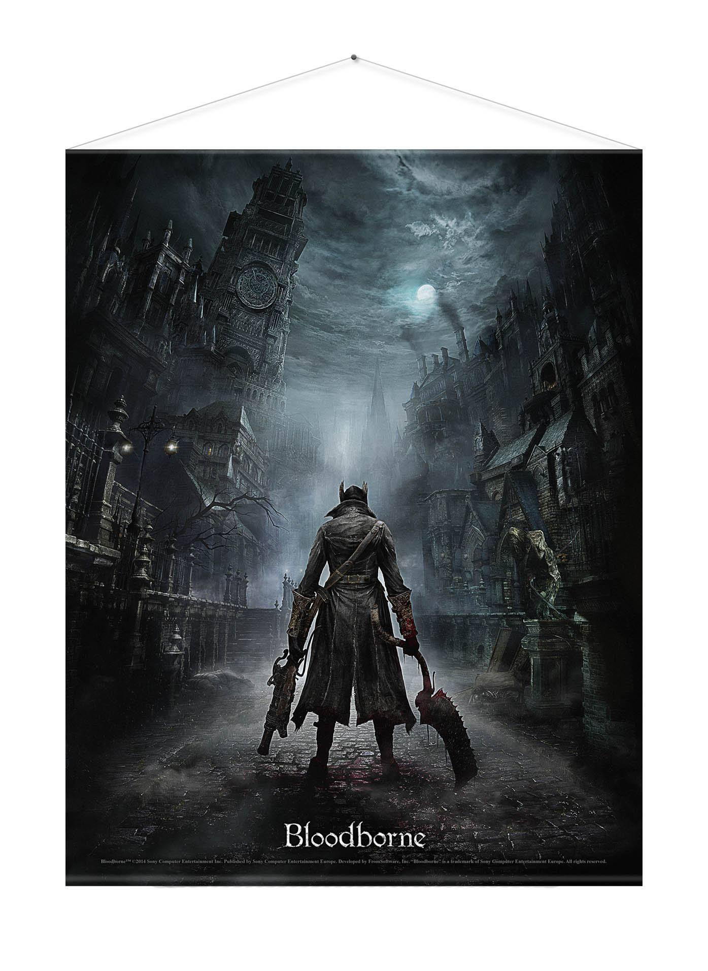 Bloodborne Wallscroll Night Street 100 x 77 cm