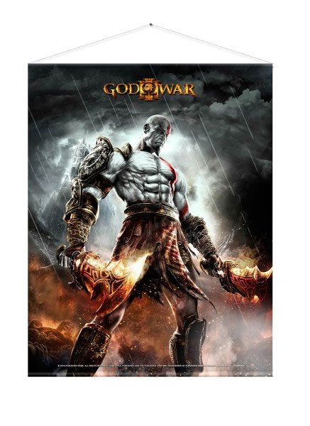 God of War Wallscroll WAR 100 x 77 cm