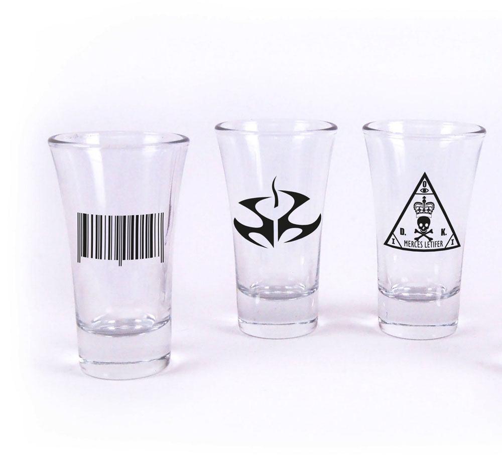 Hitman Shotglass 3-Pack