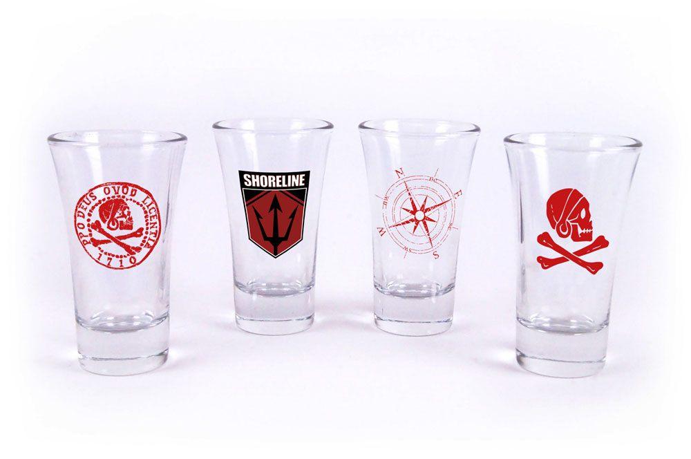 Uncharted 4 Shotglass 4-Pack