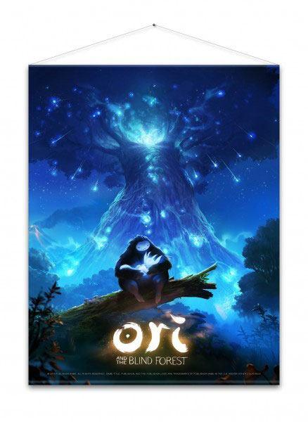 Ori and the Blind Forest Wallscroll Key Art 100 x 77 cm