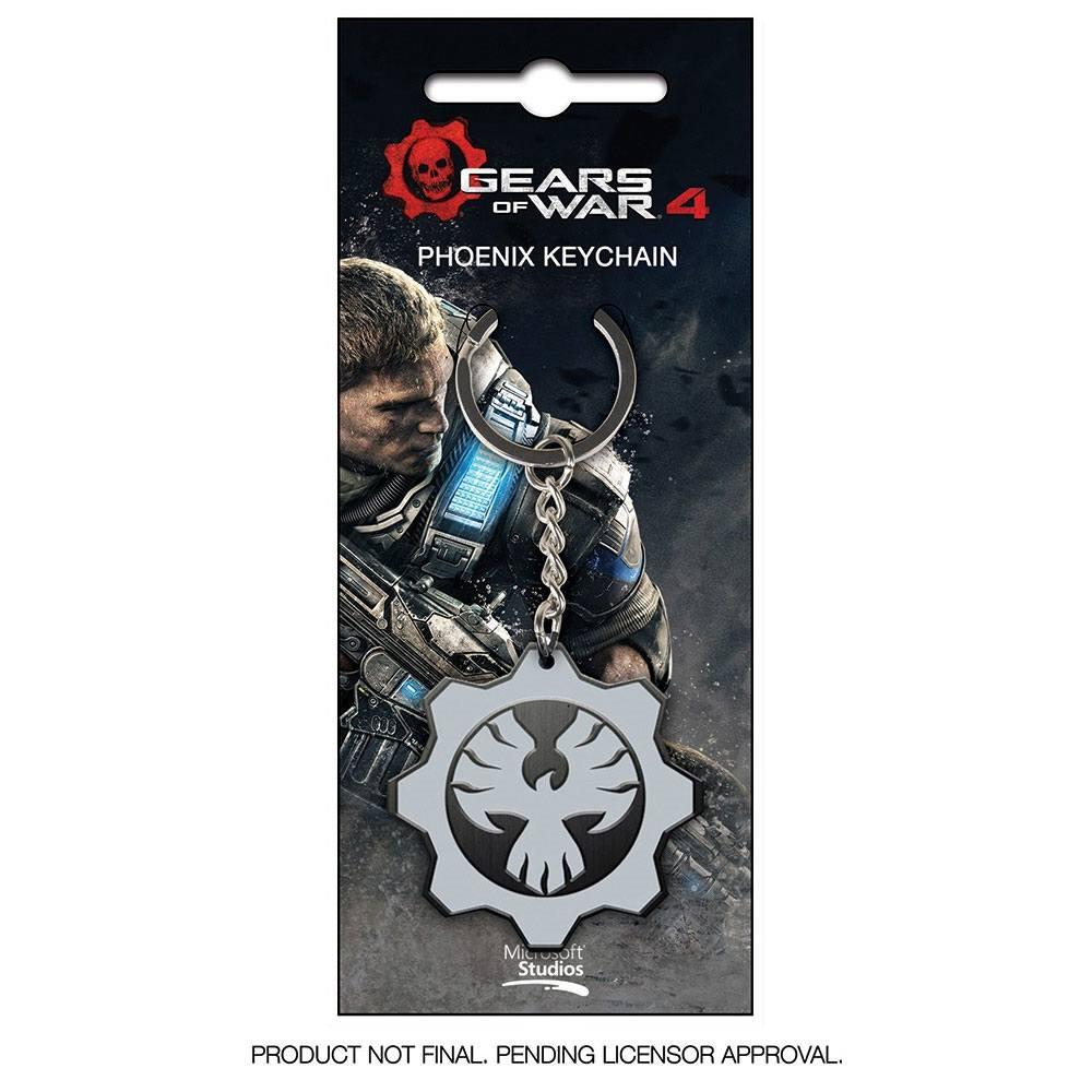 Gears Of War 4 Metal Keychain Phoenix