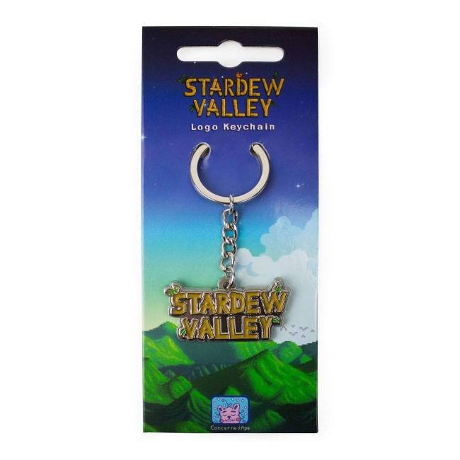 Stardew Valley Metal Keychain Logo