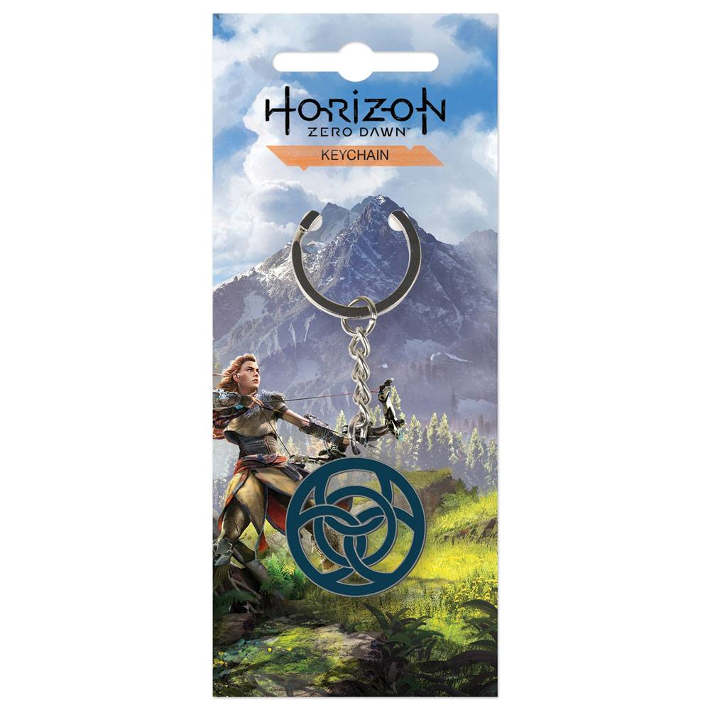 Horizon Zero Dawn Metal Keychain Clan