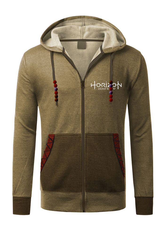 Horizon Zero Dawn Hooded Sweater Aloy Size L