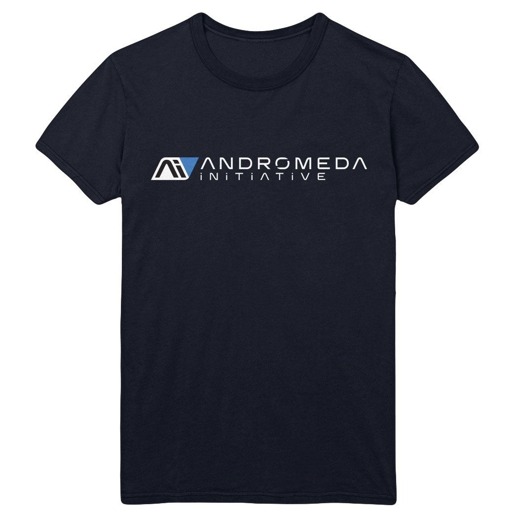 Mass Effect Andromeda T-Shirt Andromeda Initiative Size XL