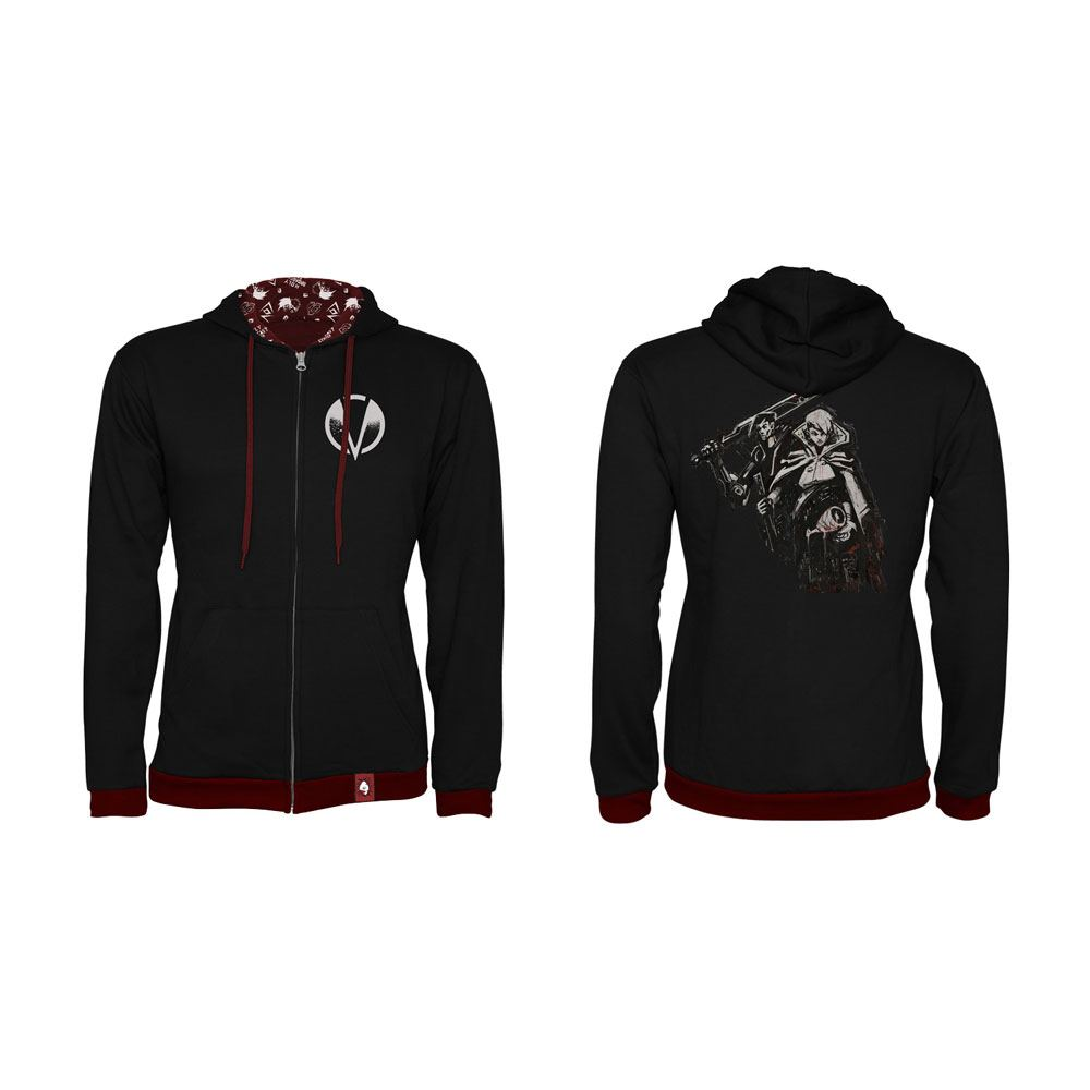 Borderlands 3 Hooded Sweater Calypso Twins Size L