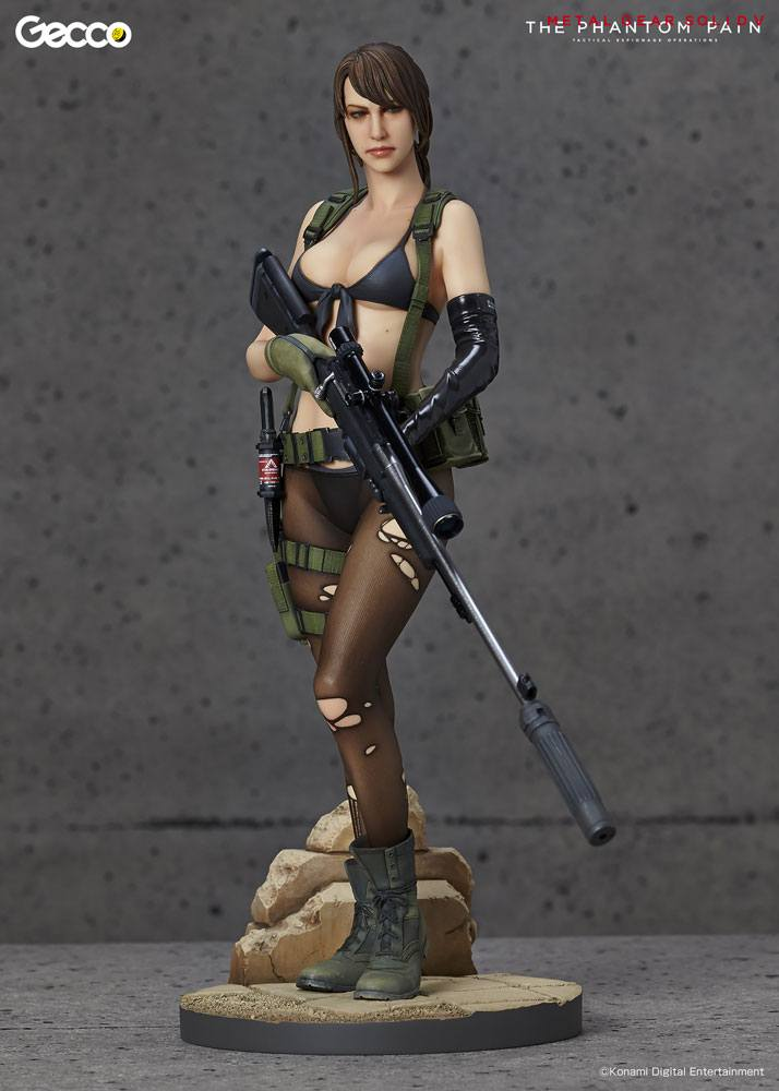 Metal Gear Solid V The Phantom Pain Statue 1/6 Quiet 30 cm