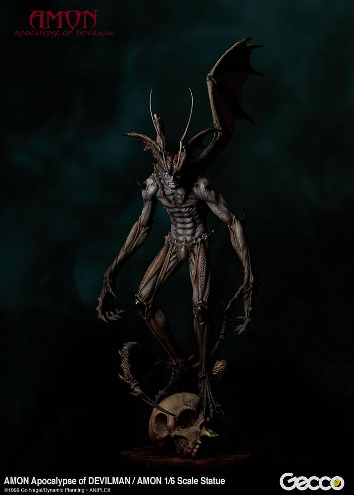 Amon The Apocalypse of Devilman Statue 1/6 Amon 46 cm