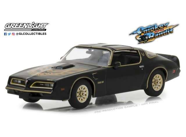 Smokey and the Bandit Diecast Model 1/43 1977 Pontiac Firebird Trans Am