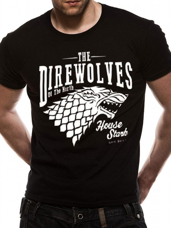 Game of Thrones T-Shirt Direwolves Size XL