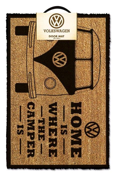 Volkswagen Doormat Home is where the Camper is 40 x 60 cm