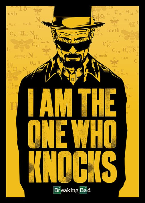 Breaking Bad Poster Pack I am the one who knocks 140 x 100 cm (3)