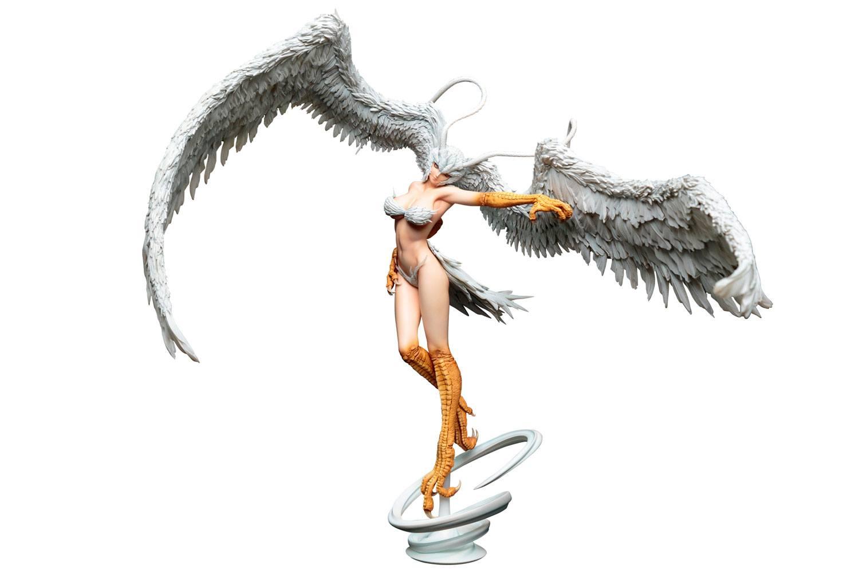 Devilman PVC Statue 1/7 Sirene Demon's Spiritual Wings in the Sky Ver. 43 cm