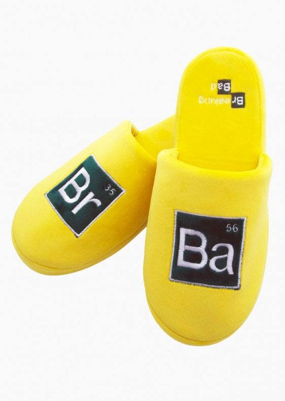 Breaking Bad Slippers Elements  Size M