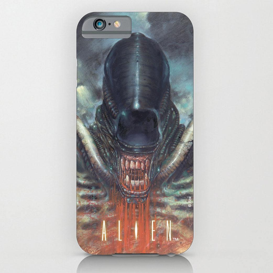 Alien iPhone 6 Plus Case Xenomorph Blood