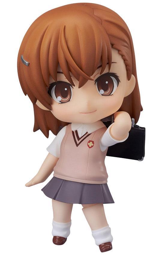Toaru Kagaku no Railgun S Nendoroid Action Figure Mikoto Misaka 10 cm