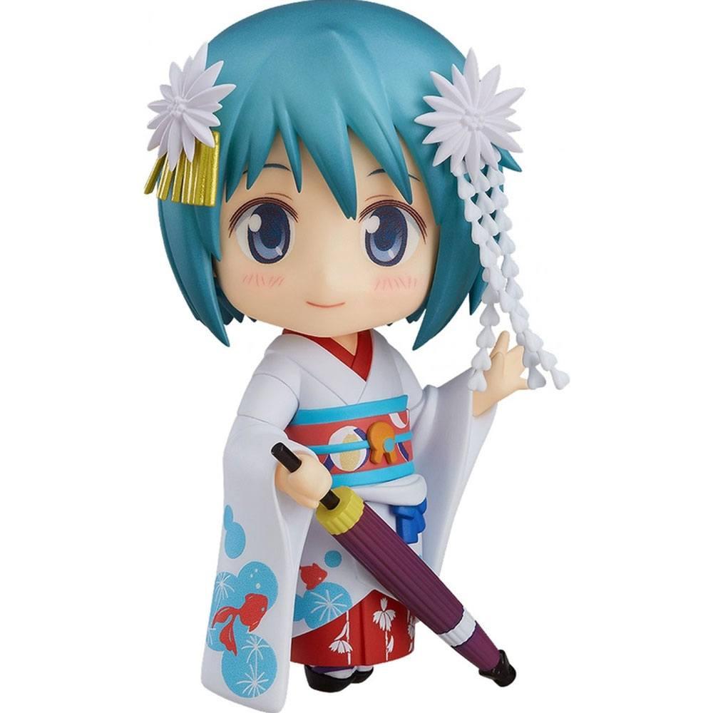 Puella Magi Madoka Magica The Movie Nendoroid Action Figure Sayaka Miki Maiko Ver. 10 cm