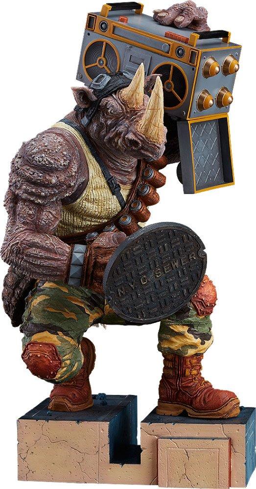Teenage Mutant Ninja Turtles PVC Statue Rocksteady 23 cm