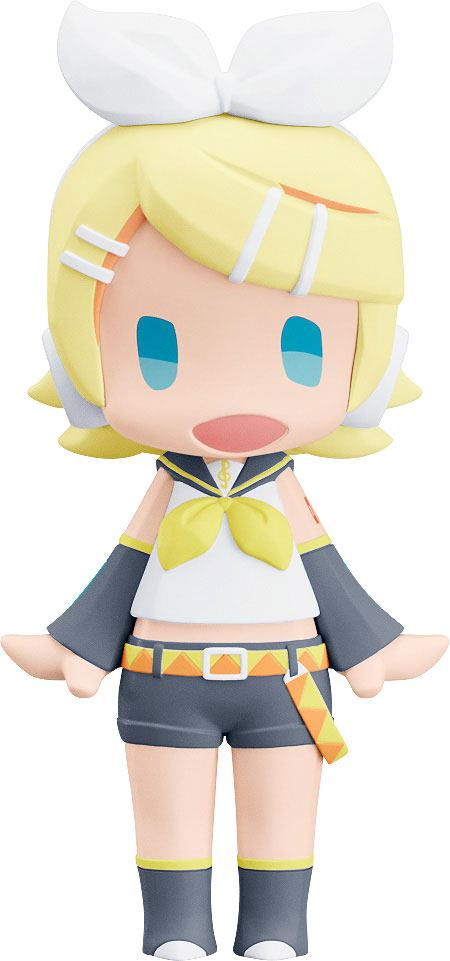 Character Vocal Series 02: Kagamine Rin/Len HELLO! GOOD SMILE Action Figure Kagamine Rin 10 cm