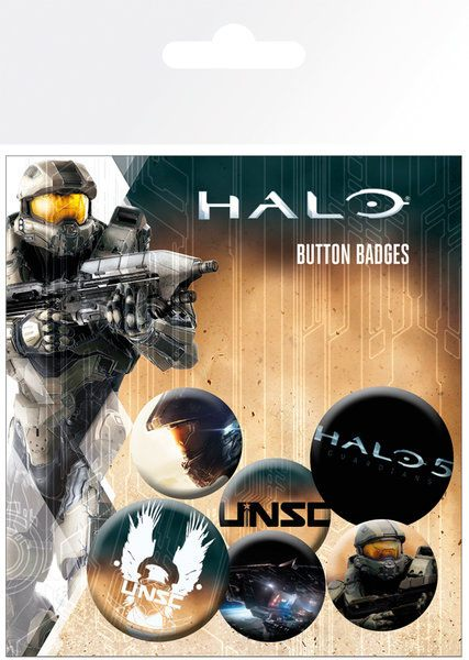 Halo 5 Pin Badges 6-Pack Mix