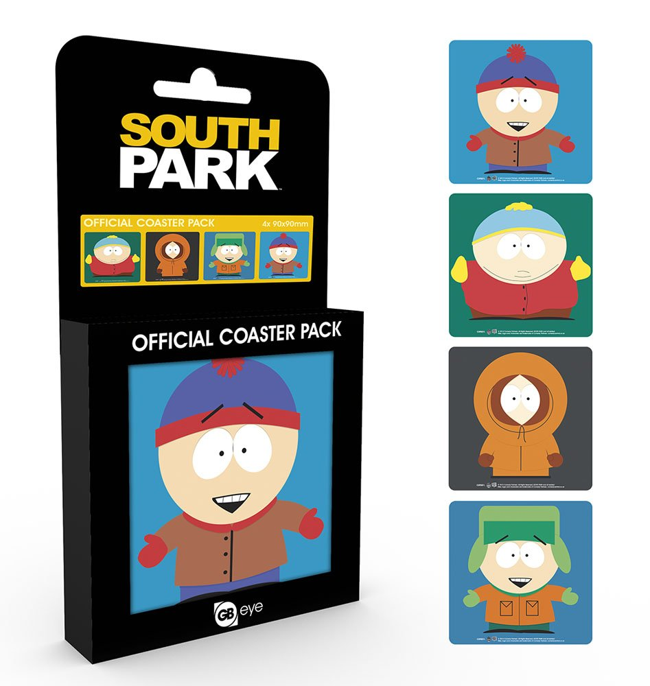 South Park Coaster Mix 4-Pack