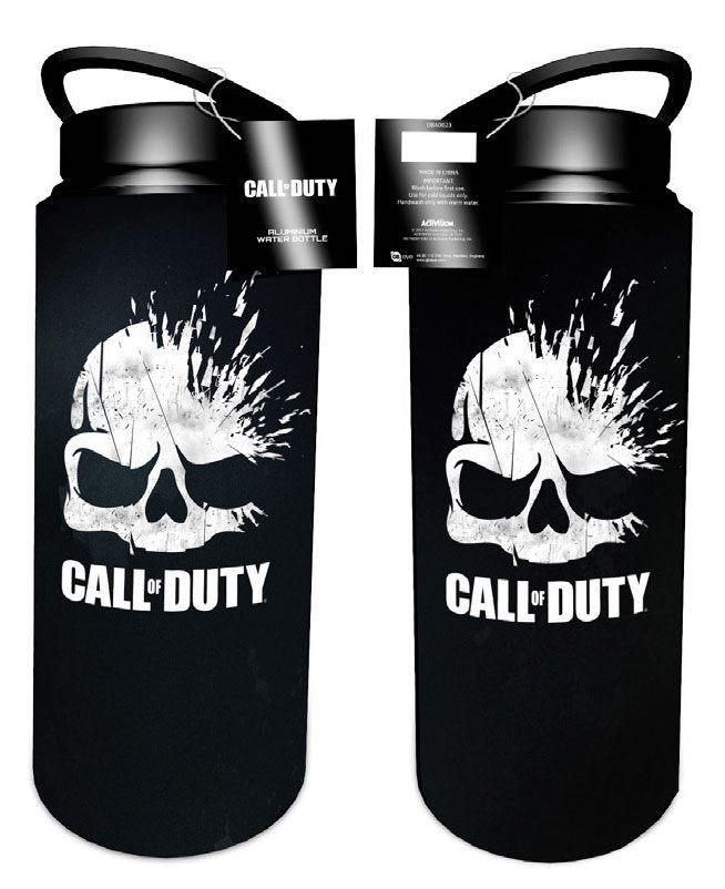 Call of Duty Drink Bottle Skulls