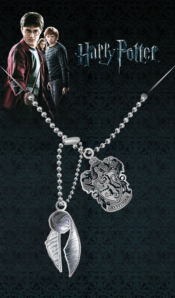 Harry Potter Dog Tags with ball chain Gryffindor