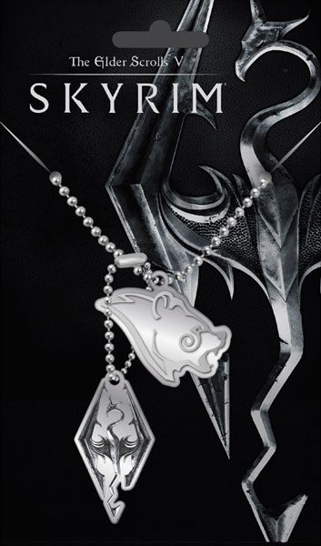 The Elder Scrolls V Skyrim Dog Tags with ball chain Njord