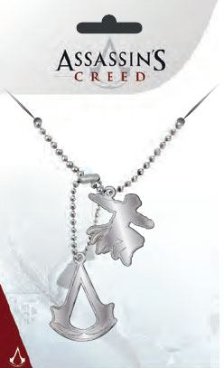 Assassin's Creed Dog Tags with ball chain Pendants