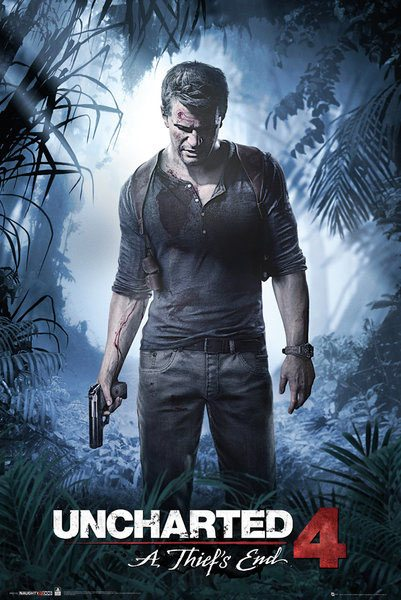 Uncharted 4 Poster Pack A Thiefs End 61 x 91 cm (5)