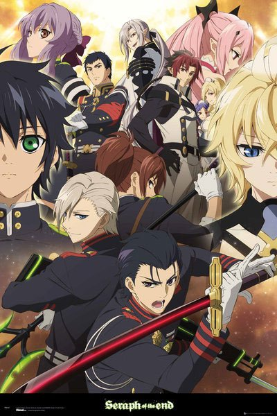 Seraph of the End Poster Pack Group 61 x 91 cm (5)