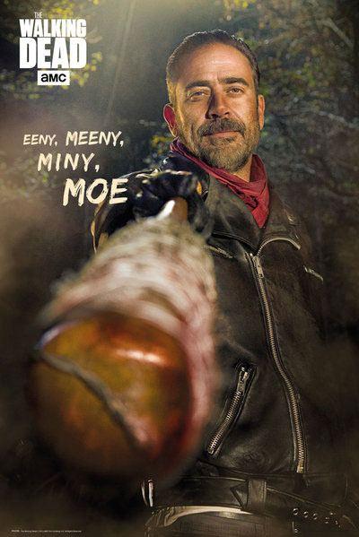 Walking Dead Poster Pack Negan Eeny Meeny Miny Moe 61 x 91 cm (5)