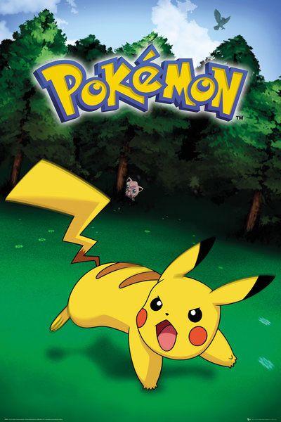 Pokemon Poster Pack Pikachu Catch 61 x 91 cm (5)