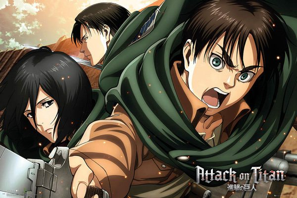 Attack on Titan Season 2 Poster Pack Scouts 61 x 91 cm (5)