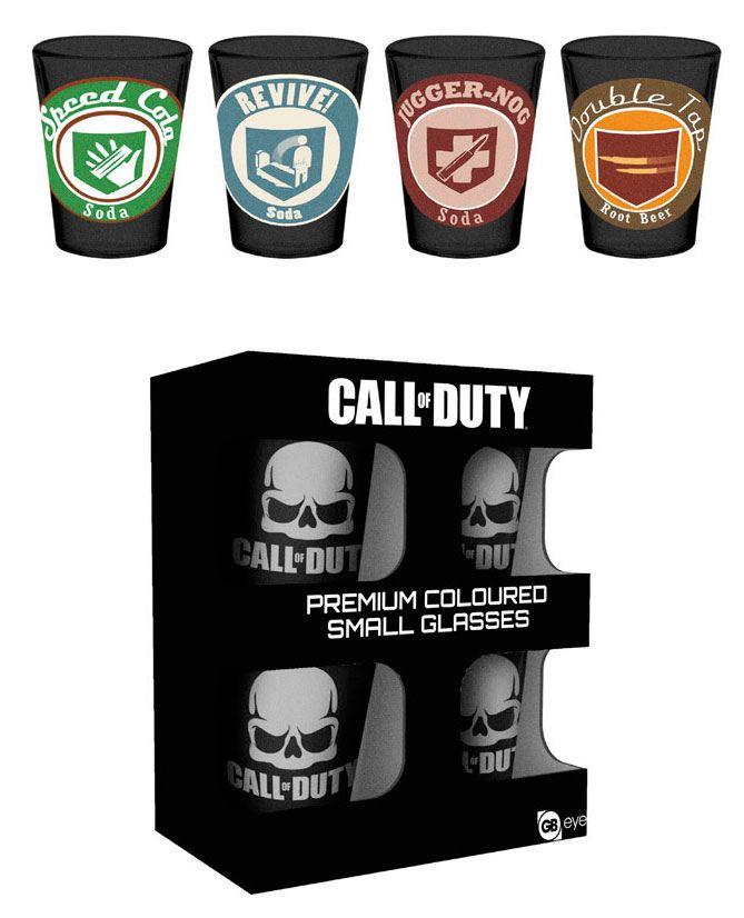 Call of Duty Premium Shotglass 4-Pack Perks