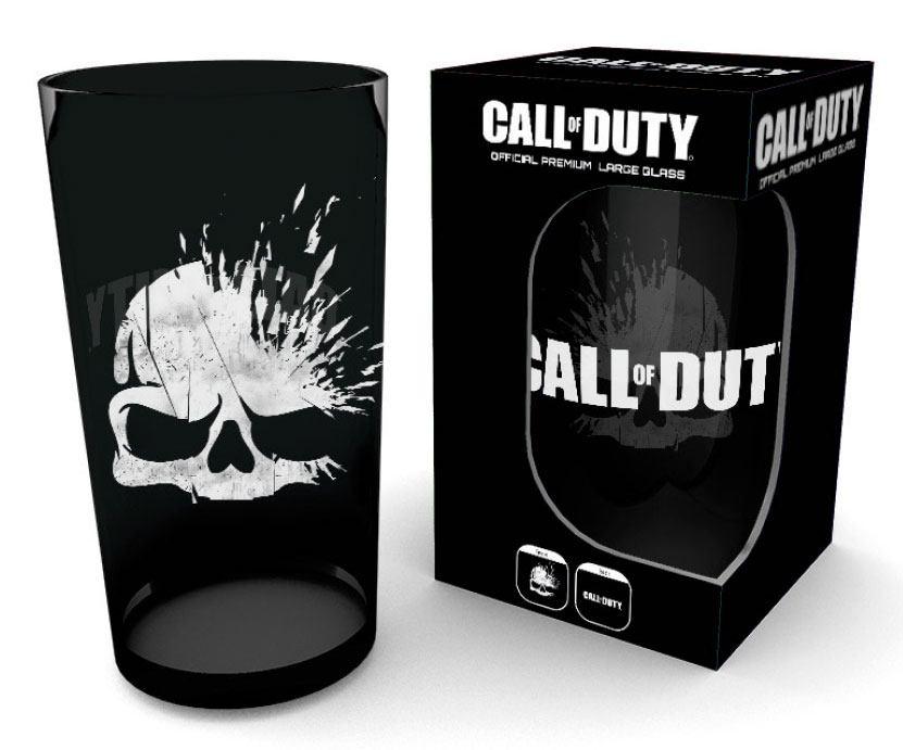 Call of Duty Premium Pint Glass Skull