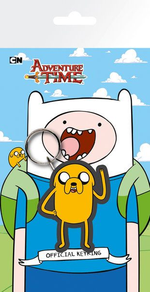 Adventure Time Rubber Keychain Jake 7 cm
