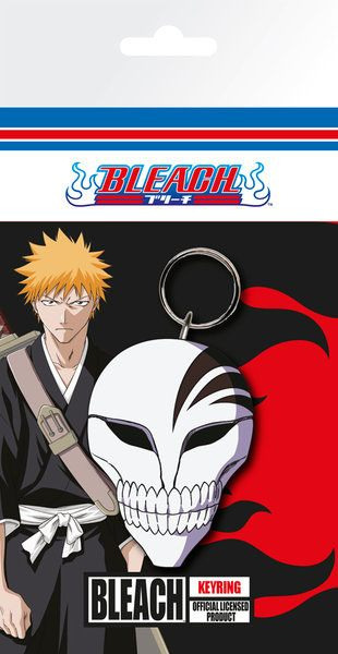 Bleach Rubber Keychain Mask 7 cm