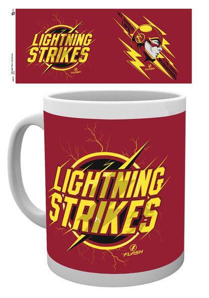 The Flash Mug Lightning Strikes
