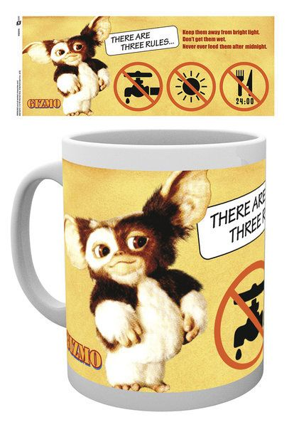 Gremlins Mug Three Rules