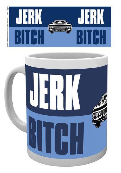 Supernatural Mug Jerk Bitch