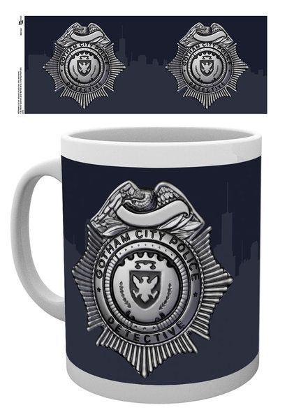 Gotham Mug Police Badge